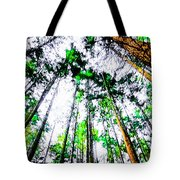 Tall Trees To The Sky Tote Bag