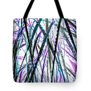 Tall Wet Grass Tote Bag