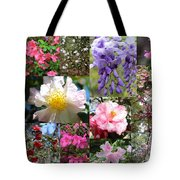 Tallahassee Springtime Collage Tote Bag