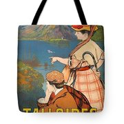 Talloires, France, Paris Lyon Mediterranean Tote Bag