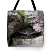Tallulah Gorge Stone Bench 2 Tote Bag