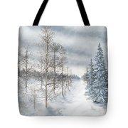 Tamarack Swamp In Winter 2  Tote Bag