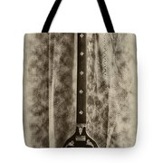 Tambura In Black And White Tote Bag