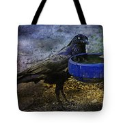 Taming Of The Crow Tote Bag
