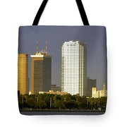 Tampa And Bayshore Tote Bag