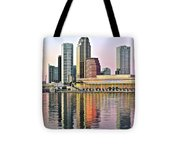 Tampa Bay Alive With Color Tote Bag