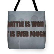 Tampa Bay Buccaneers Battle Tote Bag
