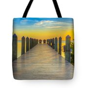 Tampa Bay Sunset Tote Bag