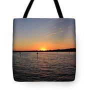 Tampa Bay Sunset Tote Bag
