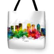 Tampa Florida Cityscape 12 Tote Bag