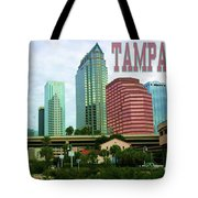 Tampa From The River Tote Tote Bag