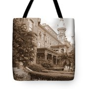 Tampa Gem In Sepia Tote Bag