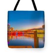 Tampa Sunrise Tote Bag