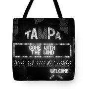 Tampa Theatre 1939 Tote Bag
