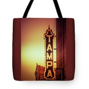 Tampa Theatre Tote Bag by Carolyn Marshall