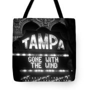 Tampa Theatre Gone With The Wind Tote Bag