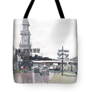 Tampa Tower At Hillsborough Intersection Tote Bag