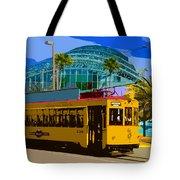 Tampa Trolley Tote Bag