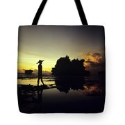 Tanah Lot Temple Tote Bag