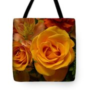 Tangerine Kisses Tote Bag