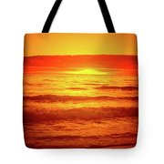 Tangerine Sunset Tote Bag