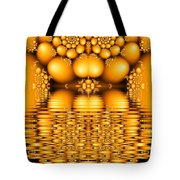 Tangerine Tears Tote Bag