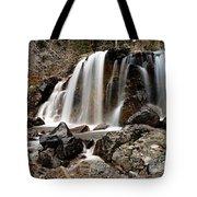 Tangle Falls Closeup 5 Tote Bag
