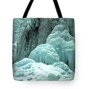 Tangle Falls Frozen Blue Cascades Tote Bag