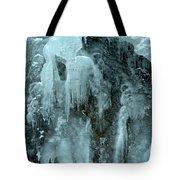 Tangle Falls Frozen Cascade Tote Bag