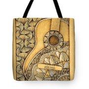 Tangle Guitar Tote Bag