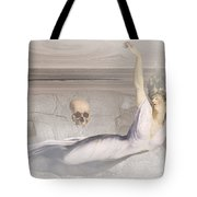 Tangle Of Matter And Ghost Tote Bag