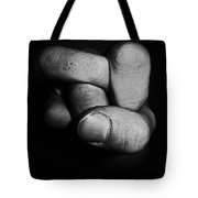 Tangled Fist Tote Bag