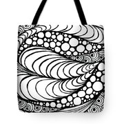 Tangled Leaf  Tote Bag