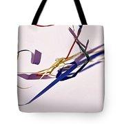 Tangled Ribbons Tote Bag