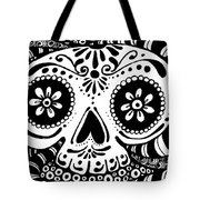Tangled Skull Tote Bag