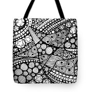 Tangled Stars  Tote Bag