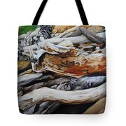 Tangled Timbers Tote Bag