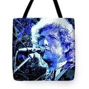 Tangled Up In Blue, Bob Dylan Tote Bag