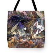 Tango Birds Tote Bag