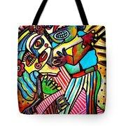 Tango Dance Of Love Tote Bag