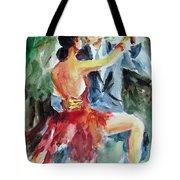 Tango In The Night Tote Bag