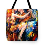 Tango Of Love   Tote Bag