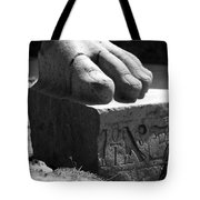 Tanis Foot Tote Bag