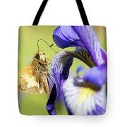 Tan_moth Tote Bag