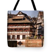 Tanners House Strasbourg Tote Bag by Louise Heusinkveld