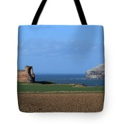Tantallon Castle And The Bass Rock Tote Bag