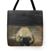 Tantric Fetal Pose Tote Bag