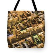 Tanzanian Courtyard Homes Are Clustered Tote Bag