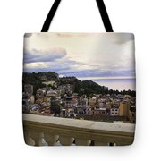 Taormina Balcony View 2 Tote Bag