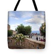 Taormina Square Tote Bag